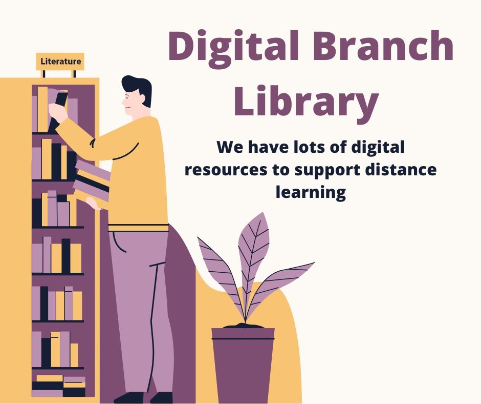 Digital Library Branch -Distance Learning Opens in new window