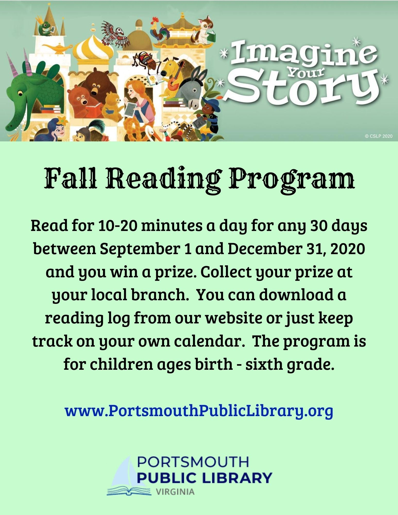Fall Reading Challenge Opens in new window